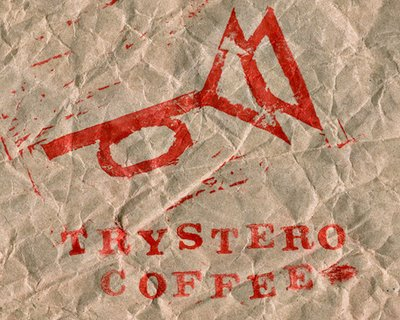 muted post horn trystero coffee